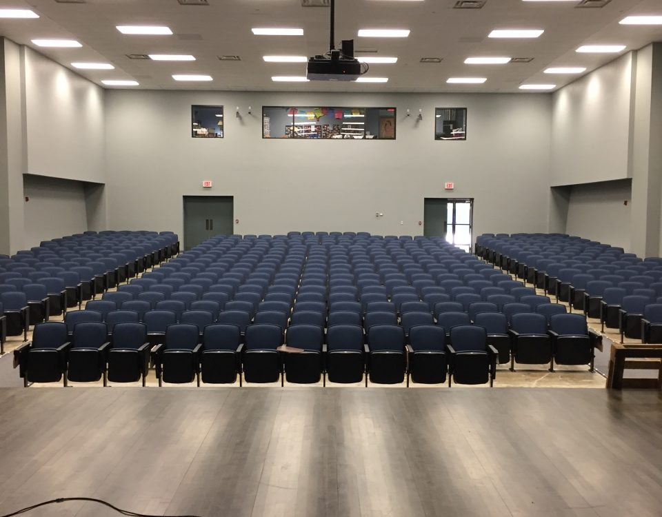 Educational AV installation project completed at Runnels School In Baton Rouge, Louisiana